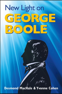Book cover New Light on George Boole by Desmond MacHale and Yvonne Cohen