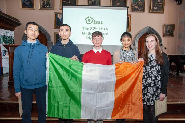 Students who will represent Ireland at 60th IMO World Championships 10-22 July Bath UK