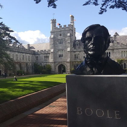 Spring is in the air: George Boole on St. Patrick's Day by Breeda Herlihy, Boole Library, UCC