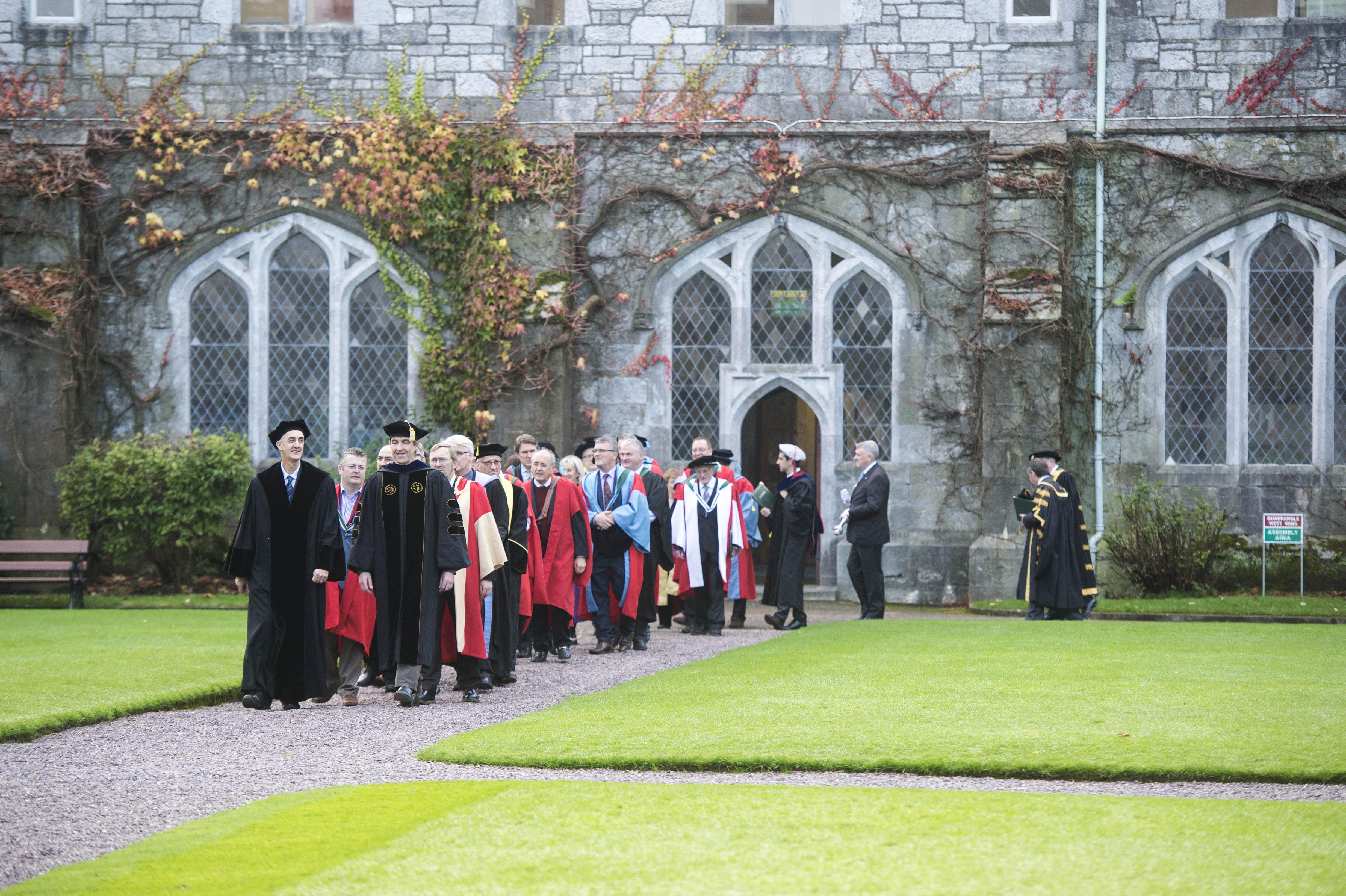 Honorary conferrings at UCC on November 2, the bicentenary of George Boole's birth