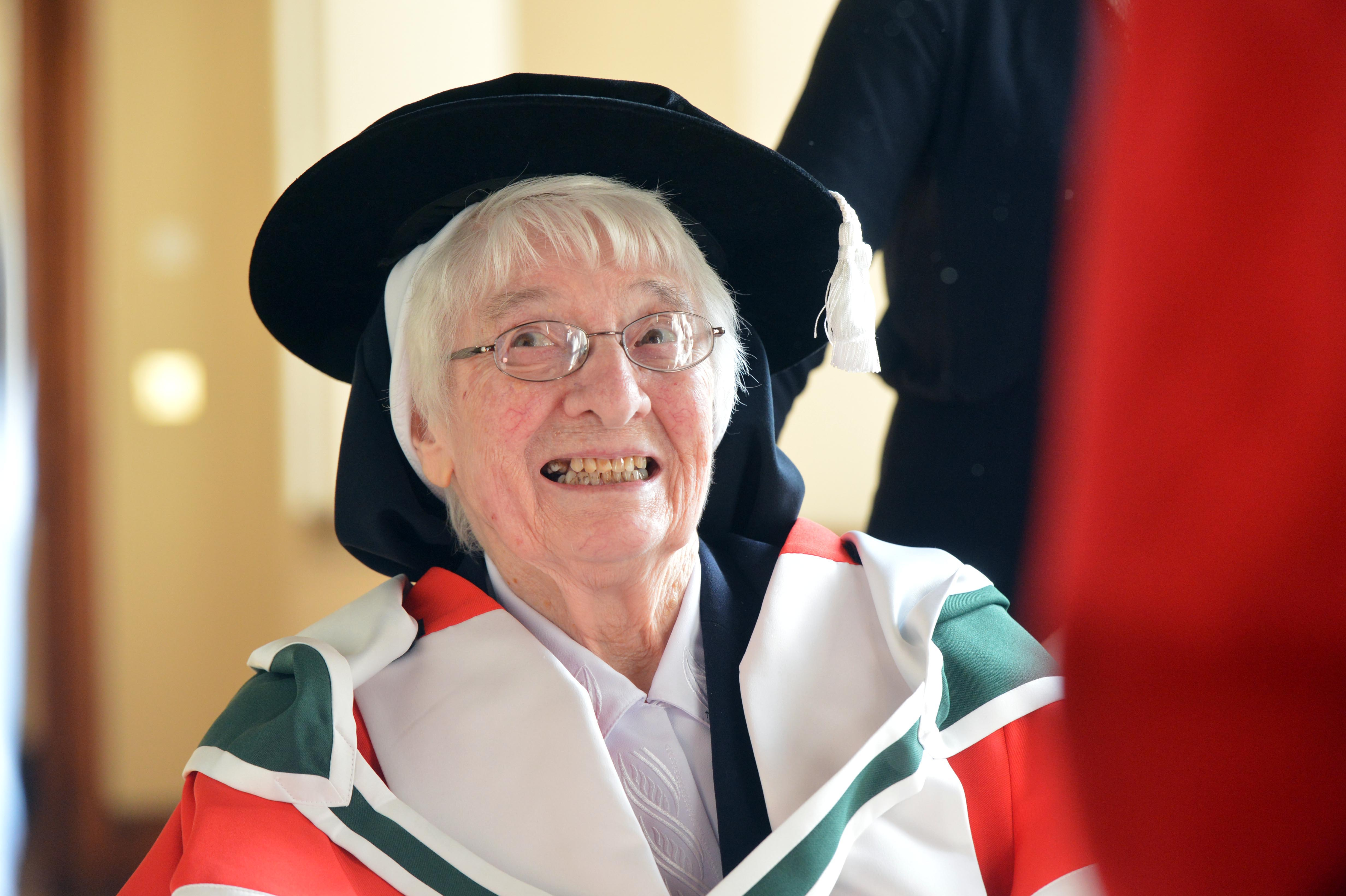 Sr Mercedes Desmond has championed science education for over 60 years.