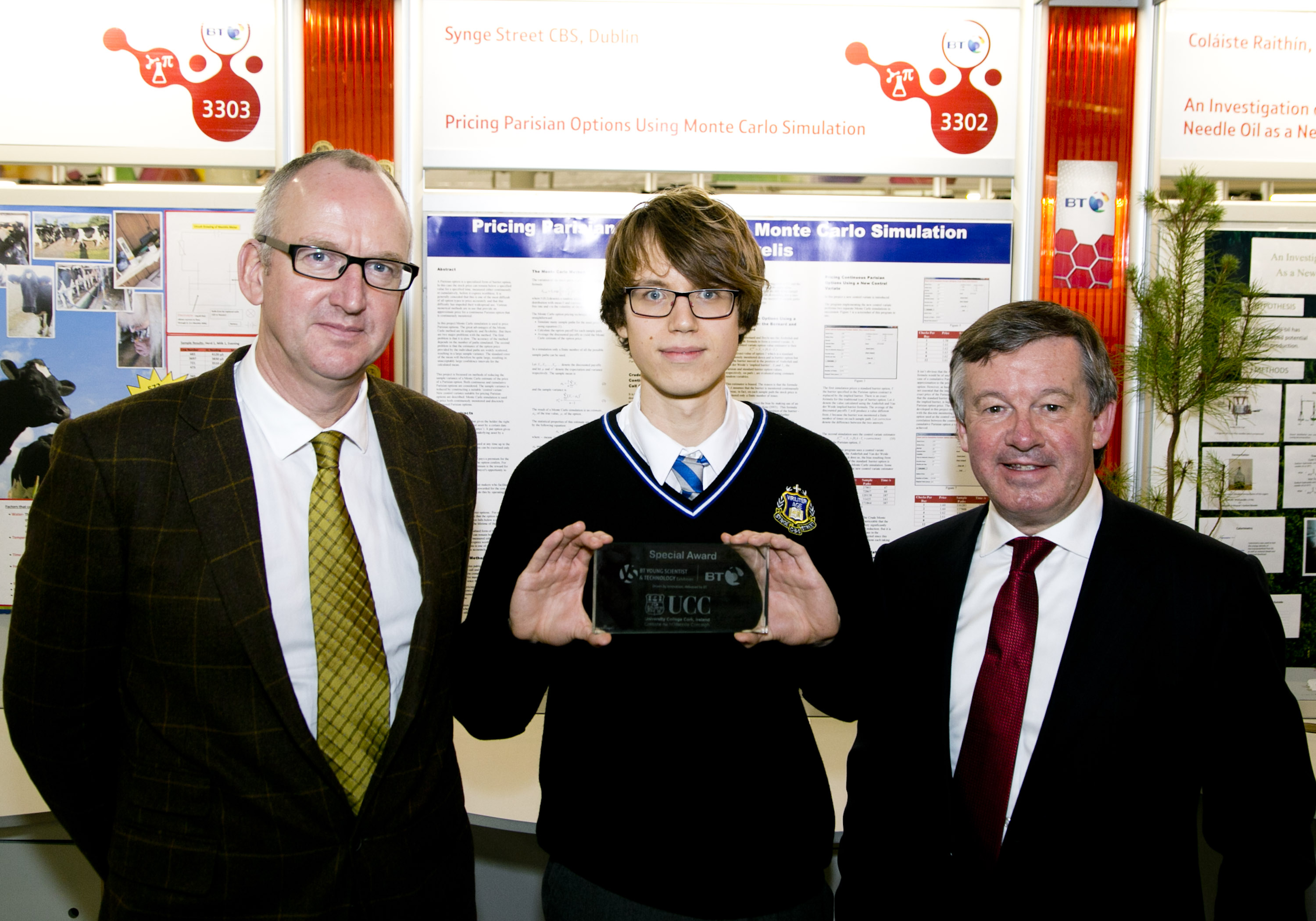 BT Young Scientist and Technology Exhibition 2016 at the RDS. Picture Colm Mahady / Fennells