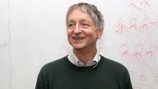 Prof Geoffrey Hinton FRS (Photo: Courtesy of The University of Toronto)